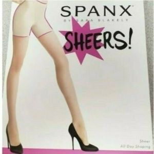 Spanx Shaping Sheers High Waist Size D Beige Sand